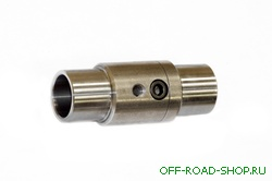 """Разъемный адаптор для разъемного соединения двух труб с диаметром  3/4"""" можно купить в 4x4mag.ru"""