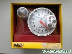 Тахометр до 10000 оборотов с лампой предупреждения о превышении оборотов можно купить в 4x4mag.ru
