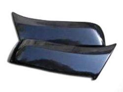Боковая накладка переднего бампера Ford Ranger 2006-2009 (2шт.) глянец под покраску можно купить в 4x4mag.ru