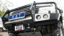 Бампер передний с кенгурином с местами под интегрированную оптику можно купить в 4x4mag.ru