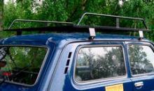 Багажник экспедиционный для ВАЗ 2121 (Нива/Lada 4х4) можно купить в 4x4mag.ru