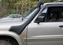 Шноркель Nissan Patrol GU 3 (1/03-8/04), GU 2 (4/00-12/02) - ZD30DDTI  3.0L-I4, дизель, левая сторона можно купить в 4x4mag.ru