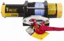 Лебедка переносная ATWPRO 2500 с синтетическим тросом  T-MAX ATV можно купить в 4x4mag.ru