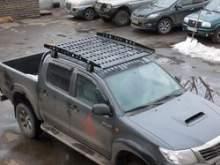Багажник экспедиционный алюминиевый КТД для Toyota Hilux можно купить в 4x4mag.ru