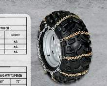 ARCTIC CAT Цепь на колесо (колеса 25 & 26 дюймов) можно купить в 4x4mag.ru