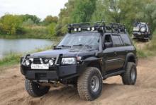 Багажник силовой восьмиопорный под люк можно купить в 4x4mag.ru