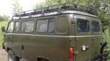 Багажник экспедиционный РИФ для УАЗ Буханка (на всю крышу) можно купить в 4x4mag.ru