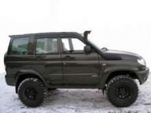 Шноркель УАЗ Патриот можно купить в 4x4mag.ru