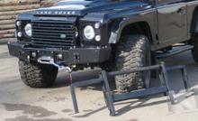 Передний силовой бампер без кенгурина - Land Rover Defender можно купить в 4x4mag.ru