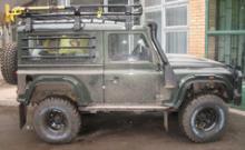 Багажник силовой шестиопорный с сеткой 1,4м х2м можно купить в 4x4mag.ru