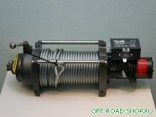 Лебедка  гидравлическая Mile Marker Hl12000 можно купить в 4x4mag.ru