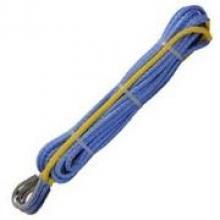 Удлинитель синтетического троса 7,5мм х 15м, обжат, с коушами можно купить в 4x4mag.ru