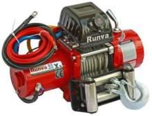 Лебёдка электрическая 12V Runva 9500 lbs 4350 кг (короткий барабан) можно купить в 4x4mag.ru
