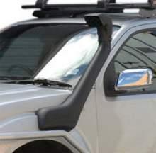 Шноркель Nissan Navara D40, ST/STX 2010+ Vin: VSK - YD25DDTi - 2.5L-I4,  дизель, левая сторона можно купить в 4x4mag.ru
