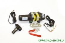 Лебедка электрическая для ATV СТОКРАТ QX 3.0 S 12V 1.5 л.с. с синтетическим тросом можно купить в 4x4mag.ru