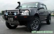 Бампер передний Deluxe RODEO 03ON 4WD W/FLARES&SRS можно купить в 4x4mag.ru