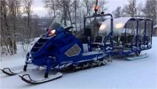 ALPINA SNOWMOBILE Сани Transalp Bus '2012' (9 мест) можно купить в 4x4mag.ru