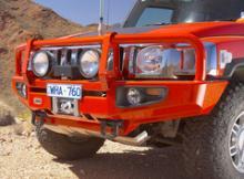 HUMMER H3 бампер передний DELUXE под лебедку c возможностью п/т фар и ABS можно купить в 4x4mag.ru