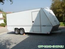 Закрытый прицеп-автовоз для перевозки спортивного автомобиля можно купить в 4x4mag.ru