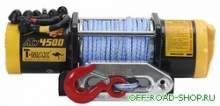 Электролебедка ATW4500  для ATV с синтетическим тросом можно купить в 4x4mag.ru