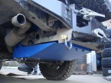 Бак топливный увеличенной ёмкости - Land Rover Defender 110, окраска, емкость 138 литров. можно купить в 4x4mag.ru