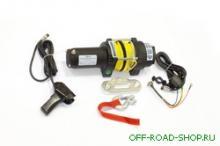 Лебедка электрическая для ATV СТОКРАТ QX 4.0 S 12V 1.6 л.с. с синтетическим тросом можно купить в 4x4mag.ru