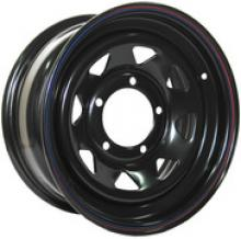 Диск колёсный стальной штампованный посадка  5x139.7  УАЗ размер 10х16 вылет  ET- 44  центральное отверстие D 110 цвет: черный. можно купить в 4x4mag.ru