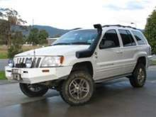 Шноркель SAFARI для JEEP Grand Cherokee WJ (1/99-12/04) двиг. Powertech V8/I6, бензин, левая сторона можно купить в 4x4mag.ru