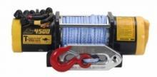 Лебедка автомобильная электрическая T-MAX ATW-4500 OFF-ROAD Improved 12В с синтетическим тросом можно купить в 4x4mag.ru