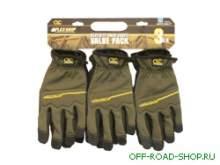 Набор из трех пар перчаток механика. Размер L. можно купить в 4x4mag.ru