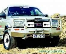 Бампер передний Deluxe MAZ/COUR/RAID TO 3/96 9/8 можно купить в 4x4mag.ru