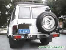 Траверса крепления канистры левая 100/Rodeo/F250 можно купить в 4x4mag.ru