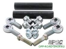 Комплект заготовок для изготовления рулевых тяг для двухстороннего гидроцилиндра. можно купить в 4x4mag.ru