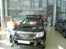 Багажник экспедиционный для Toyota Hilux с релингами можно купить в 4x4mag.ru