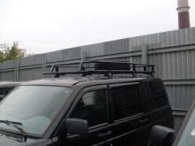 Багажник для а/м  УАЗ Патриот  (закрытый) можно купить в 4x4mag.ru