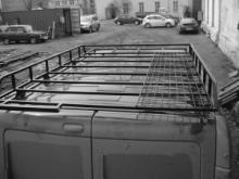Багажник для а/м Рено Трафик можно купить в 4x4mag.ru