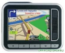 Globalsat GV-370 - автомобильный GPS-приемник,  с процессором SiRFstarIII можно купить в 4x4mag.ru