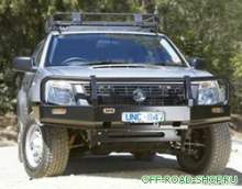 Бампер передний Deluxe ISUZU RODEO 7/98ON DX ONLY 9/8 можно купить в 4x4mag.ru