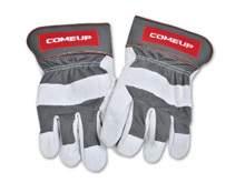 Перчатки кожаные для работы с лебедкой Come UP можно купить в 4x4mag.ru