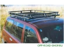 Багажник стальной Deluxe LC100  1120 X 1120 с сеткой можно купить в 4x4mag.ru