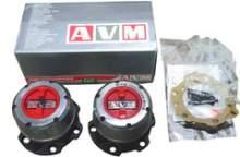 Колесные хабы ручные усиленные AVM-438НР, Suzuki можно купить в 4x4mag.ru