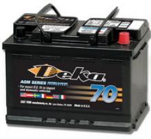 Аккумулятор гелевый Deka 60Аh можно купить в 4x4mag.ru