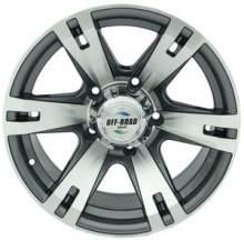 Диск УАЗ литой серый 5x139,7 8xR16 d110 ET-20 можно купить в 4x4mag.ru