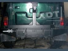 Задний силовой бампер KDT-Light - УАЗ Hunter можно купить в 4x4mag.ru