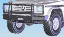 Передний силовой бампер - Mercedes-Benz G-класс можно купить в 4x4mag.ru