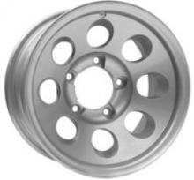 Диск колесный легкосплавный кованный РЕЙТИНГ посадка 6х139,7; размер 8x15; вылет ET-25; центральное отверстие D 108 цвет:  сильвер можно купить в 4x4mag.ru