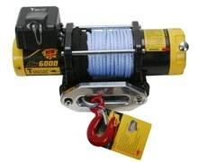 Лебедка автомобильная электрическая T-MAX ATW-6000 Performance 12В с синтетическим тросом можно купить в 4x4mag.ru