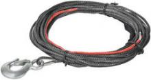 Синтетический трос с крюком,  5.5 mm x 15.2 m для лебедок ComeUp Cub 4s можно купить в 4x4mag.ru