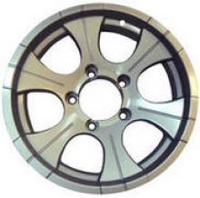 Диск колёсный легкосплавный литой LF посадка 5x139,7 УАЗ размер 8х16 вылет ET-15 центральное отверстие D110 цвет: серебристый можно купить в 4x4mag.ru