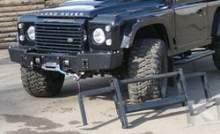 Передний силовой бампер со съемным кенгурином - Land Rover Defender можно купить в 4x4mag.ru